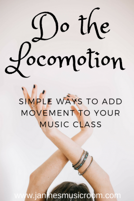 Simple ways to add movement to your music class