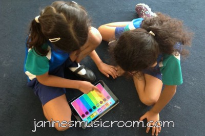 ipad assessment music