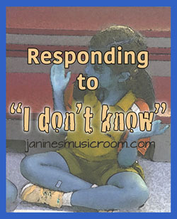 students-say-i-don't-know-response