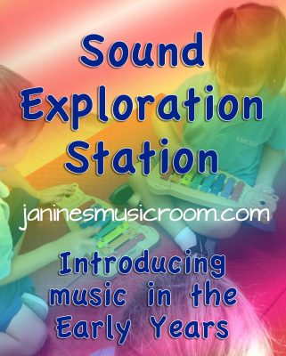 Setting Up a Sound Exploration Station #JaninesMusicRoom #SingingGames #MusicEducation #LearningThroughPlay