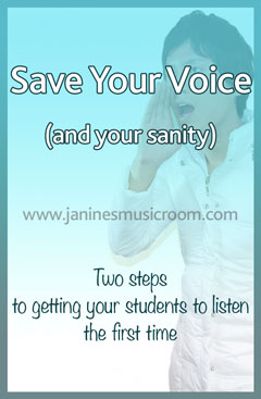 classroom management voice tips