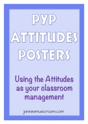 values based class management pyp