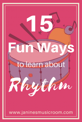 fun rhythm games music class lesson plans