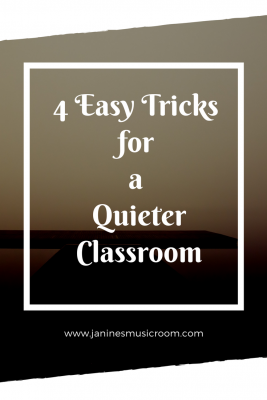 music classroom management easy tricks quiet teaching tips