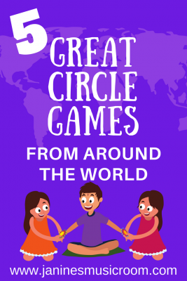 Musical Circle Games from Greece, Italy, Mexico, Ghana, and Israel