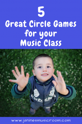 Great Circle Games for Music Class! Janine's Music Room
