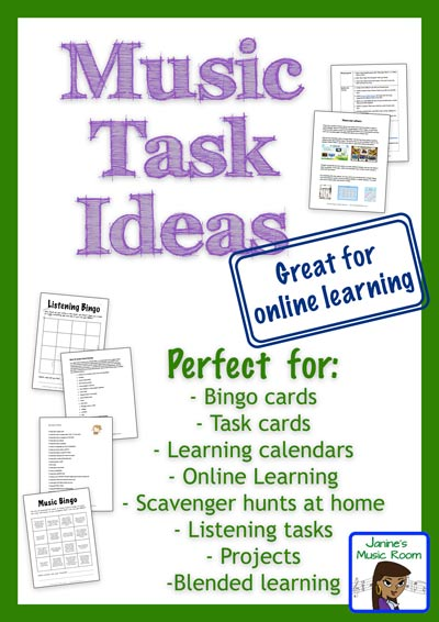 music task ideas cover