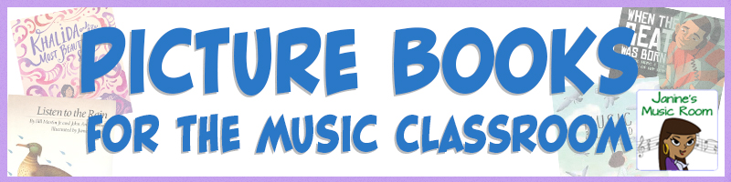 picture books list Janinesmusicroom
